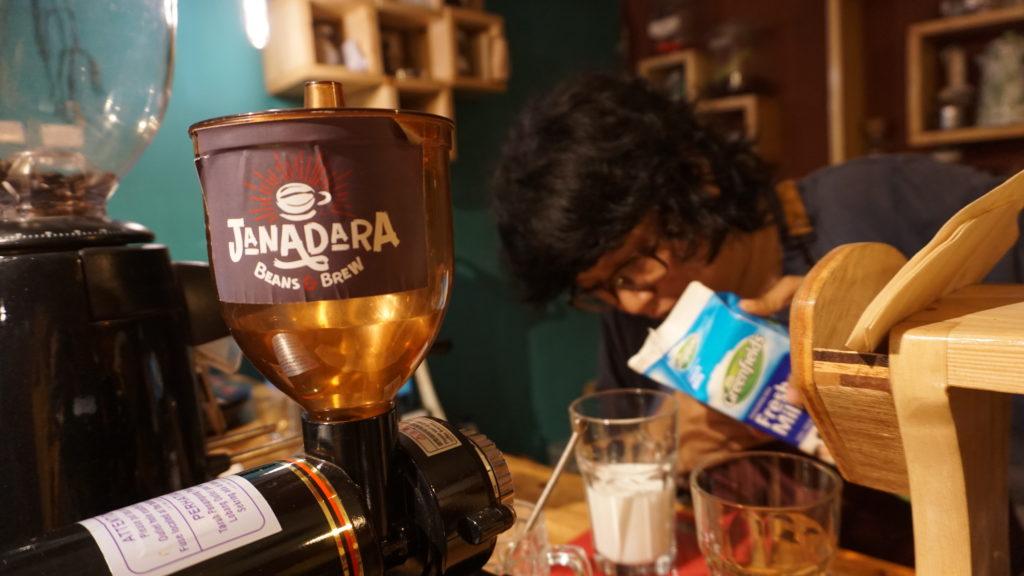 Kopi Susu Sayang Janadara Beans & Brew
