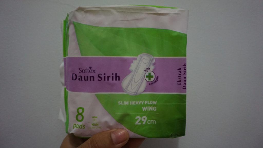 Softex Daun Sirih 29cm