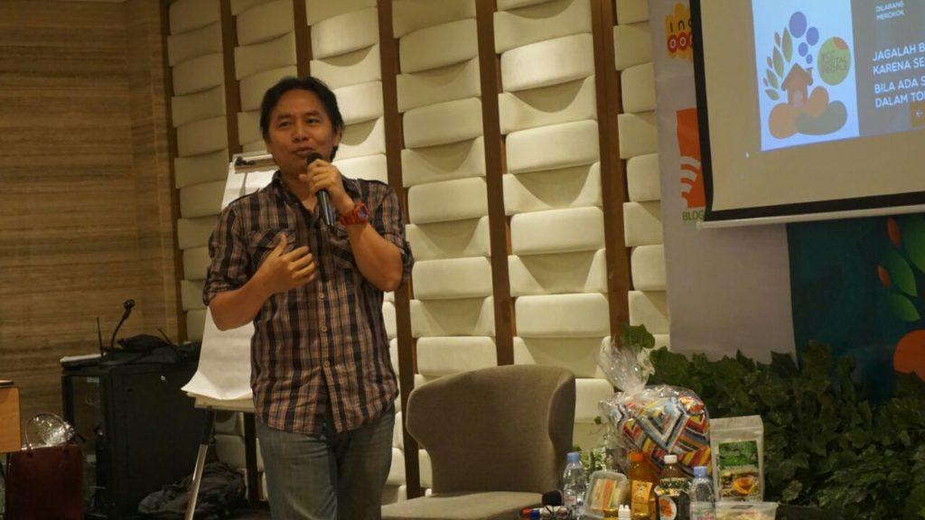 Anwari Natari, Pembicara Mapping Mind di Bloggerday2018