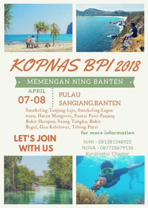 Main ke Sangiang Island Banten Yuk!