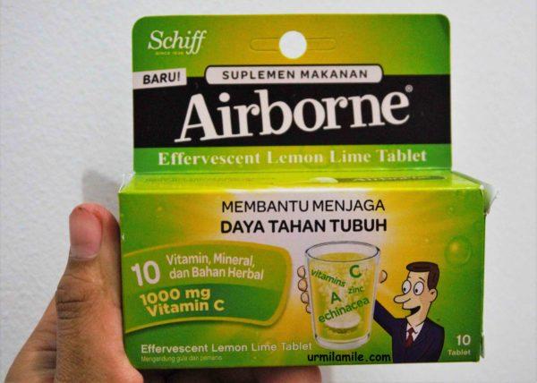 Airborne, Suplement Makanan Membantu Menjaga Daya Tahan Tubuh
