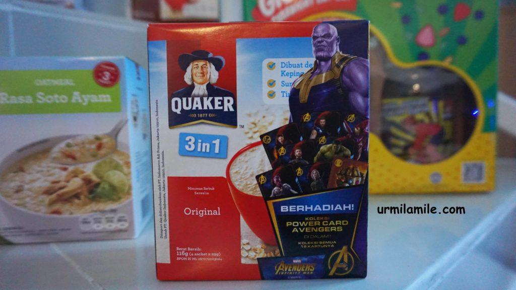 Quaker 3 in 1 Original Avengers