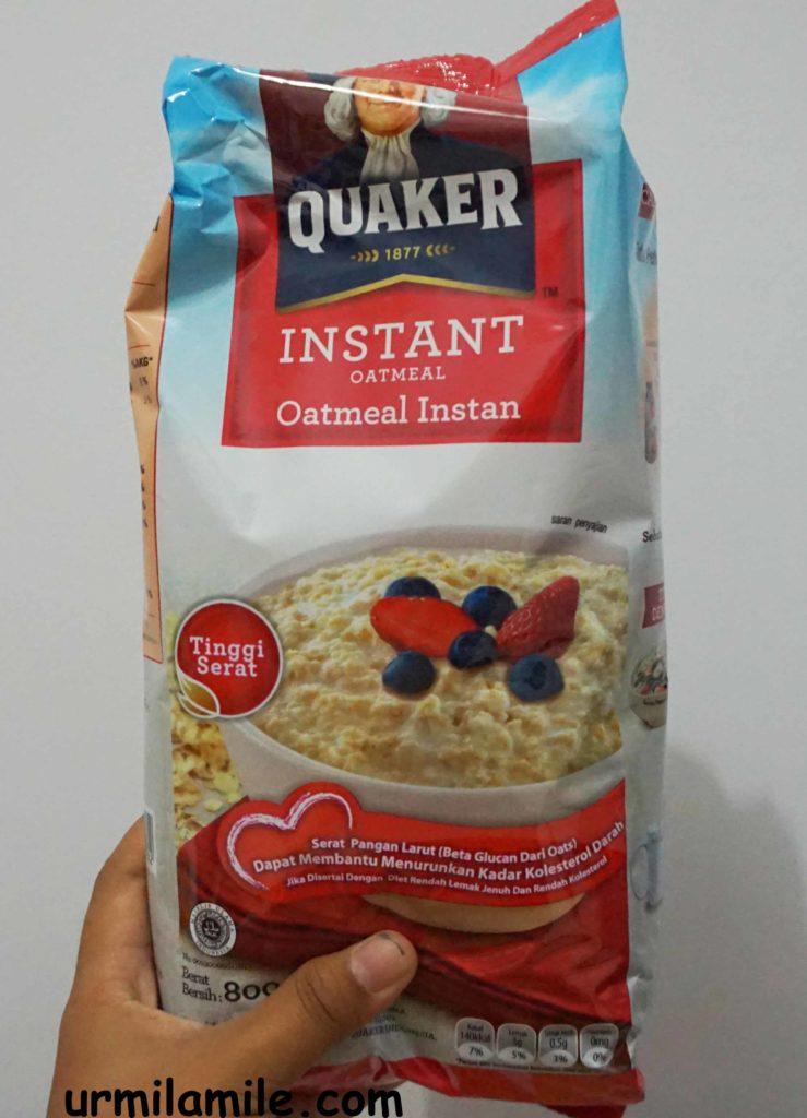 Daftar Harga Produk Quaker Oatmeal Untuk Diet Terbaru 2019