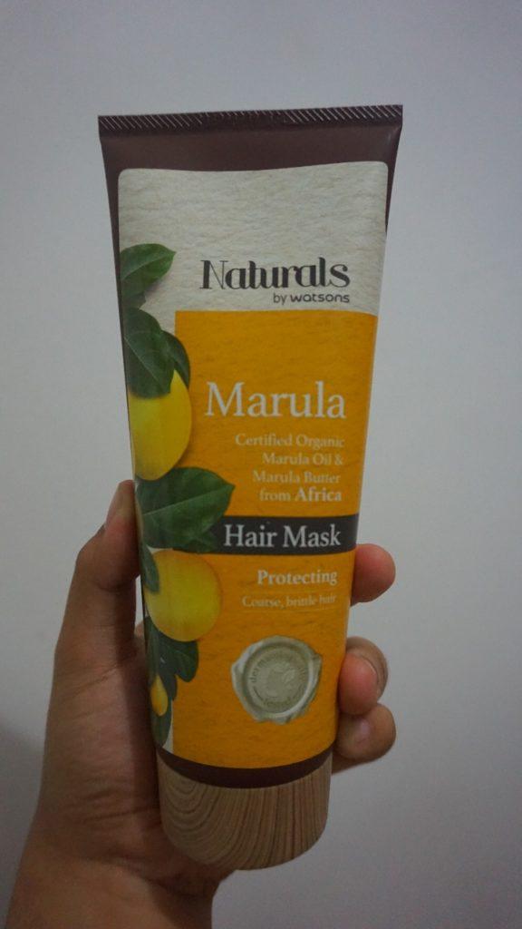 Naturals by Watsons Marula Hair Mask
