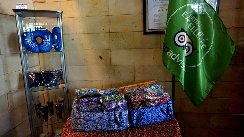 BATIQA Hotel Cirebon sudah berkali-kali mendapatkan penghargaan dari Trip Advisor