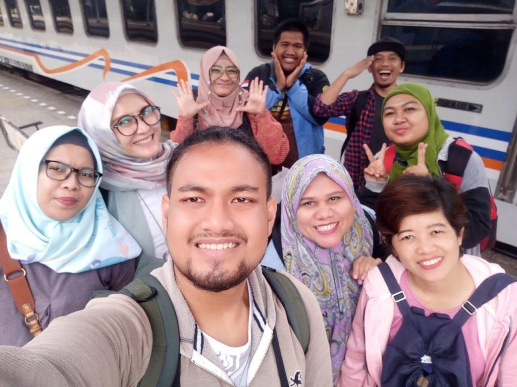 Rombongan Blogger dari Jakarta