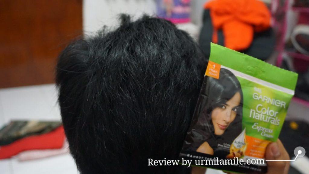 Rambut Berkilau dengan Memakai Garnier Color Naturals Express Cream