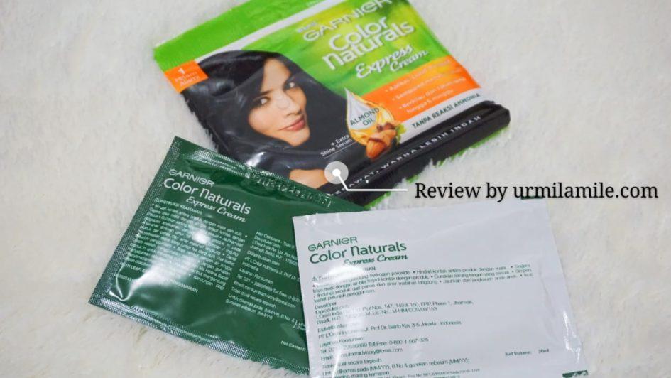 Review Garnier Color Naturals Express Cream