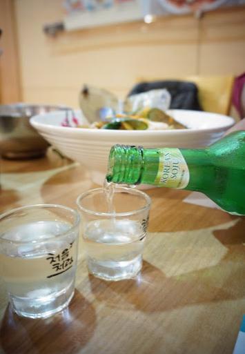 Cara Minum Soju