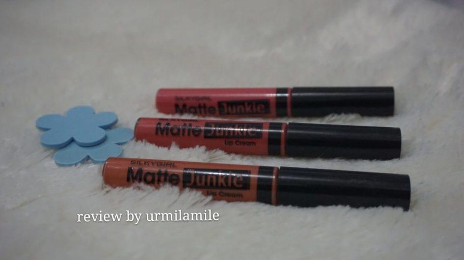 Review Silky Girl Matte Junkie Lip Cream