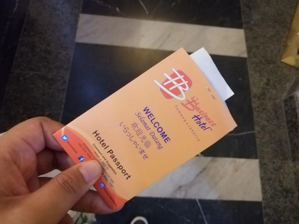 OYO 126 Business Hotel - Key Card Kamar Hotel