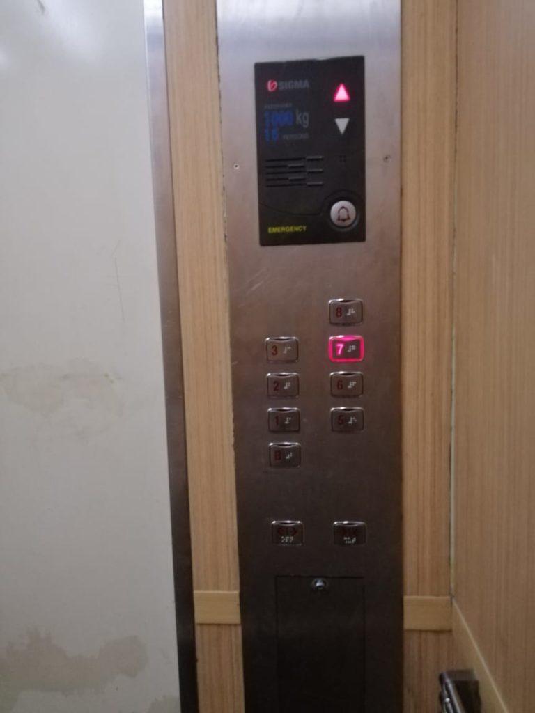 OYO 126 Business Hotel - Kondisi Lift Menuju Kamar Hotel