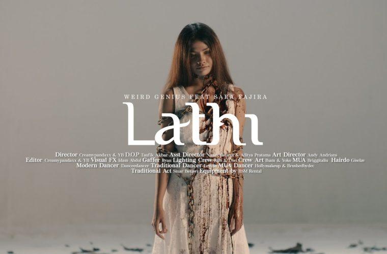 Fakta lagu lathi menunjukkan seorang wanita yang tersakiti